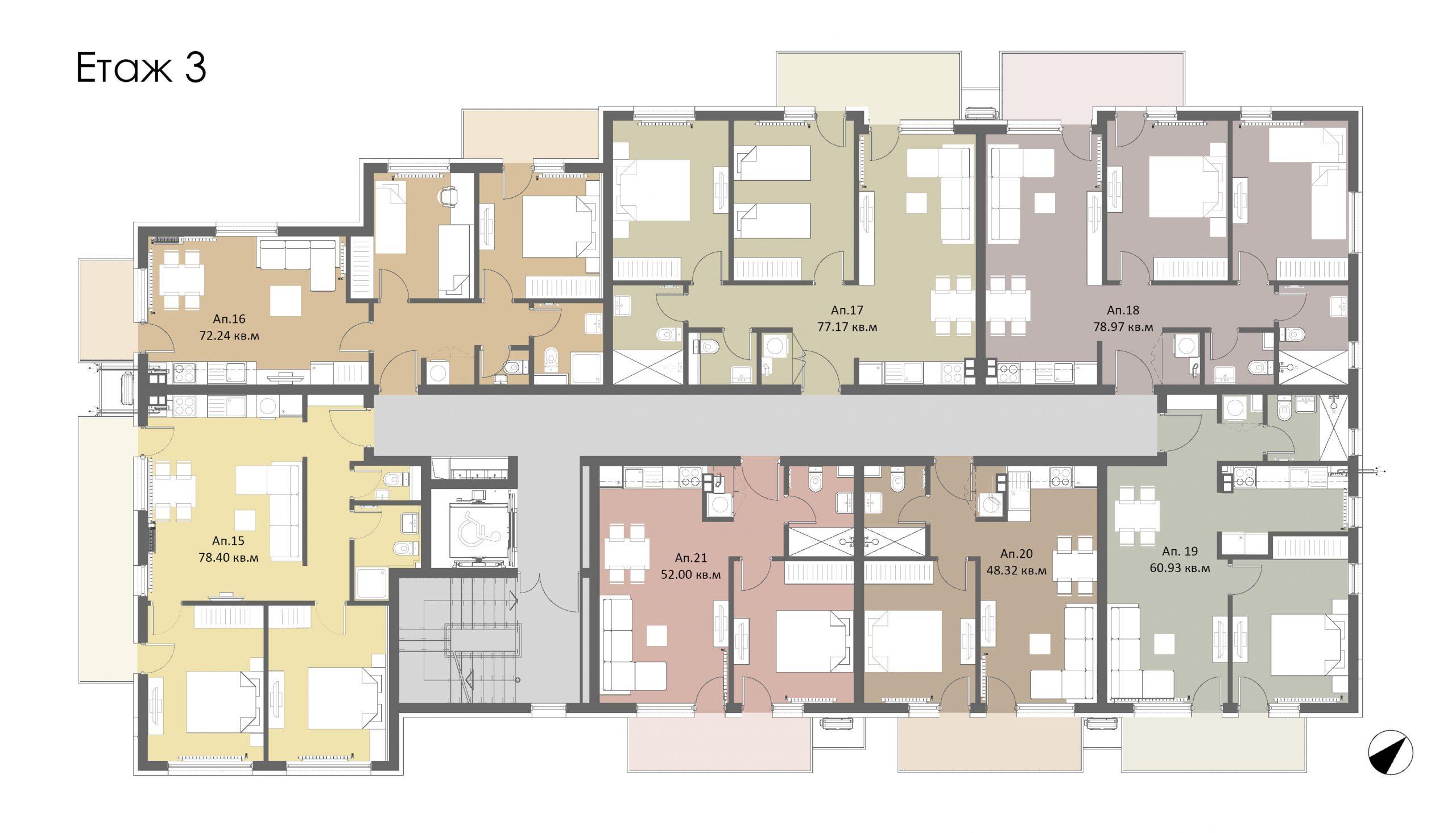 Трети етаж