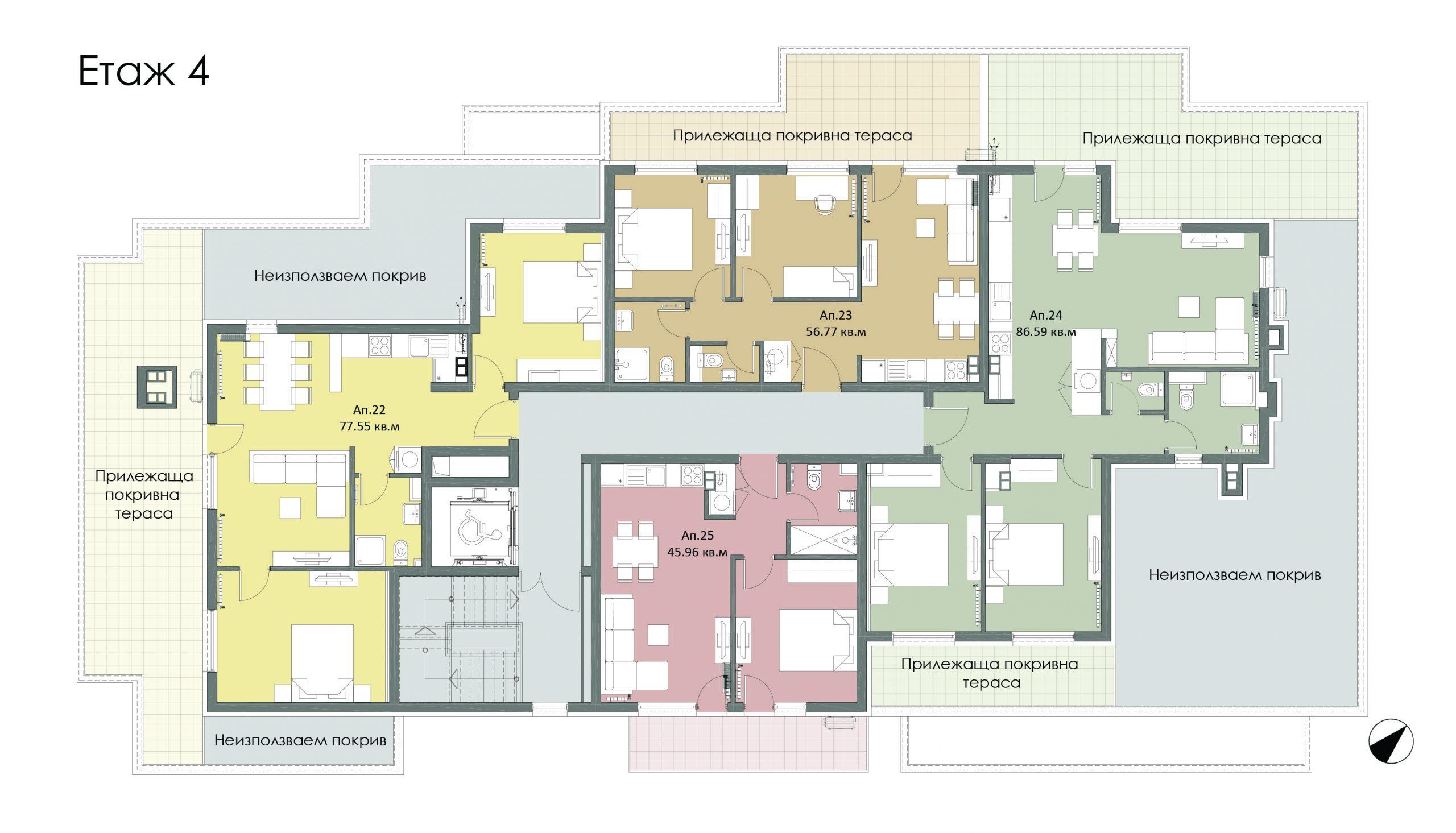 Четвърти етаж